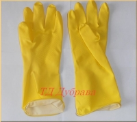 Перчатки латексные Лотос
