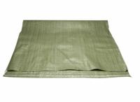 Мешки полипропиленовые зеленые  55 на 95 см.